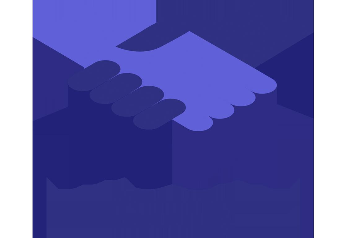 Blockchain samenwerking
